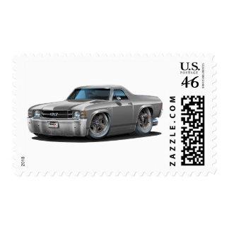1971-72 El Camino Grey Truck Stamps