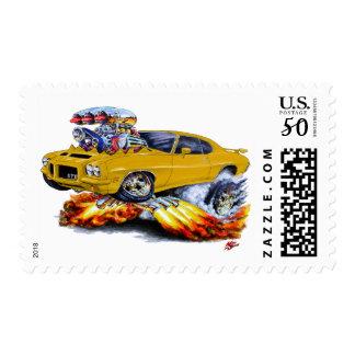 1971-72 GTO Gold Car Postage