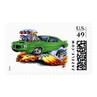 1971-72 GTO Judge Green Car Postage