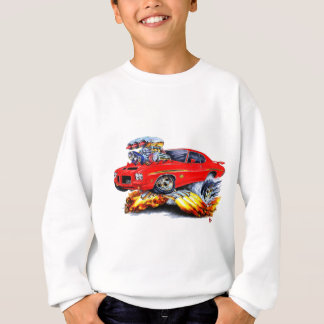 1971-72 GTO Judge Red Car Sweatshirt