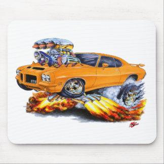 1971-72 GTO Orange Car Mouse Pad