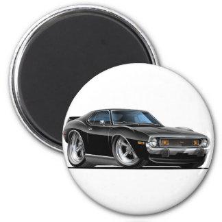 1971-72 Javelin Black Car 2 Inch Round Magnet