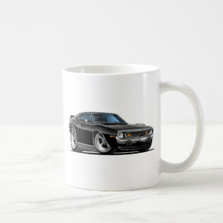 1971-72 Javelin Black Car Coffee Mug