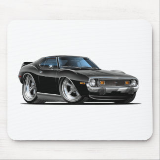 1971-72 Javelin Black Car Mouse Pad