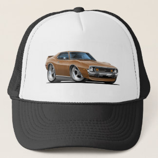 1971-72 Javelin Brown Car Trucker Hat