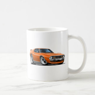 1971-72 Javelin Orange Car Coffee Mug
