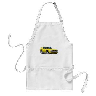 1971-72 Javelin Yellow Car Adult Apron