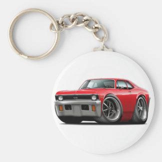 1971-72 Nova Red Car Keychain