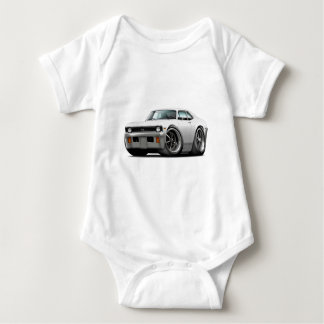 1971-72 Nova White Car Baby Bodysuit