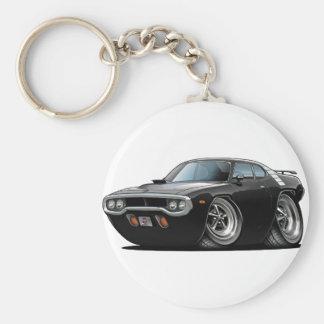 1971-72 Roadrunner Black Car Keychain