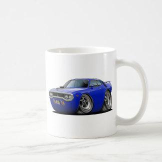 1971-72 Roadrunner Blue-Black Car Coffee Mug