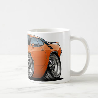 1971-72 Roadrunner Orange-Black Car Coffee Mug