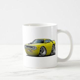 1971-72 Roadrunner Yellow-Black Car Coffee Mug