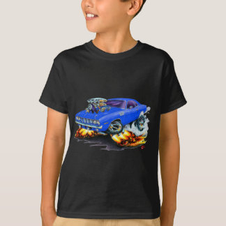 1971-73 Cuda Blue Car T-Shirt