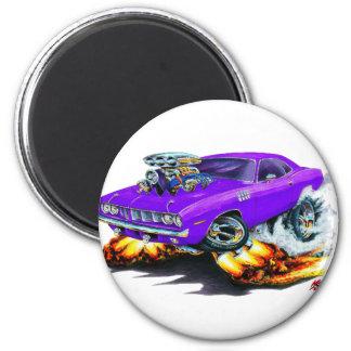 1971-73 Cuda Purple Car Magnet