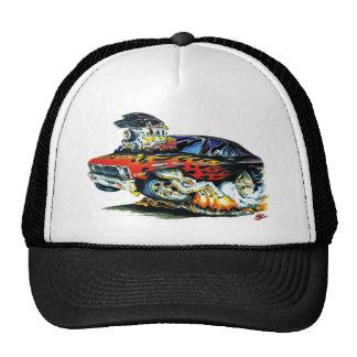 1971-74 Nova Black-Red Flames Trucker Hat