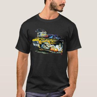 1971-74 Nova Black-Yellow Flames T-Shirt