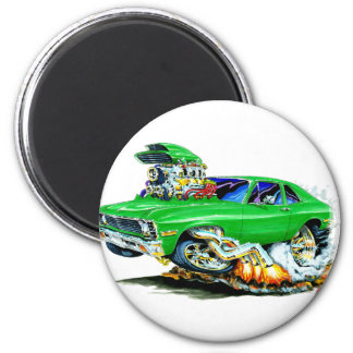 1971-74 Nova Green Car Magnet