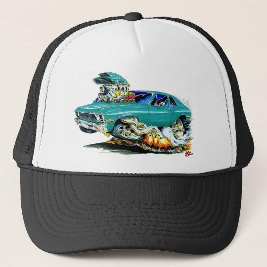 1971-74 Nova Teal Car Trucker Hat
