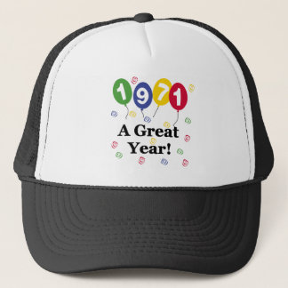 1971 A Great Year Birthday Trucker Hat