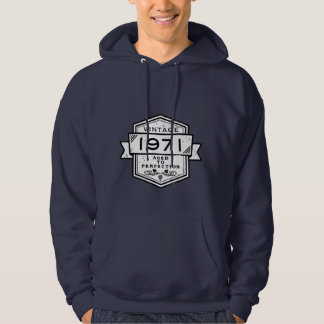 1971 Aged To Perfection Clothing Hoodie