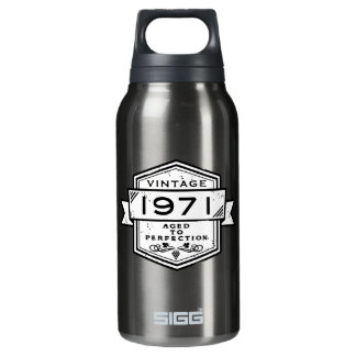 1971 Aged To Perfection Insulated Water Bottle