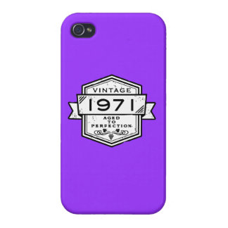 1971 Aged To Perfection iPhone 4/4S Case