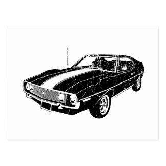 1971 AMC Javelin Postcard