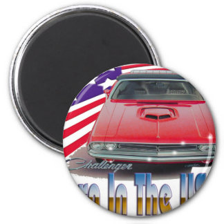 1971 Challenger Convertable Magnet