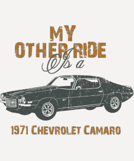 1971 Chevrolet Camaro Tshirt