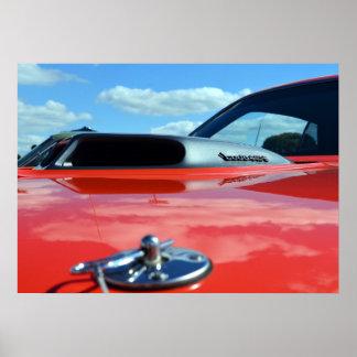 1971  Cuda 440 poster
