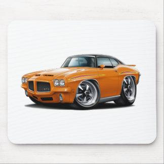 1971 GTO Judge Orange-Black Top Mousepad