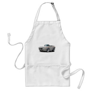 1971 GTO Judge Silver Convertible Adult Apron