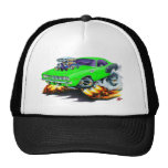 1971 Hemi Cuda Lime Car Mesh Hats