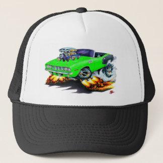 1971 Hemi Cuda Lime Convertible Trucker Hat