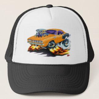 1971 Hemi Cuda Orange Car Trucker Hat