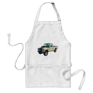 1971 Land Rover Pickup Truck Adult Apron