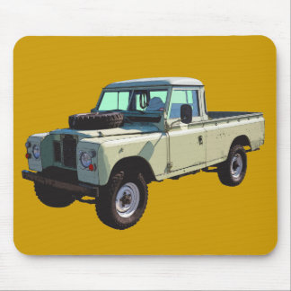 1971 Land Rover Pickup Truck Mouse Pad