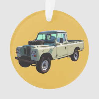 1971 Land Rover Pickup Truck Ornament