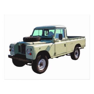 1971 Land Rover Pickup Truck Postcard