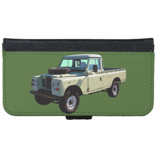 1971 Land Rover Pickup Truck Wallet Phone Case For IPhone
