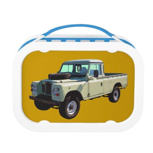 1971 Land Rover Pickup Truck Yubo Lunch Box