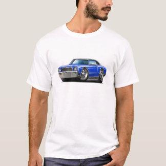 1971 Monte Carlo Blue-Black Top Car