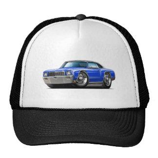 1971 Monte Carlo Blue-Black Top Car Trucker Hat