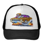 1971 Monte Carlo Brown Car Mesh Hat