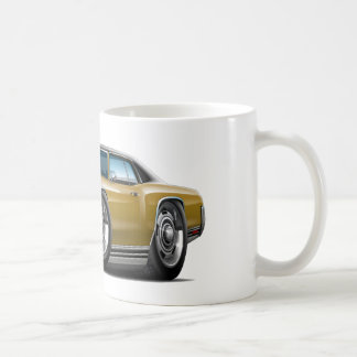 1971 Monte Carlo Gold-Black Top Car Coffee Mug