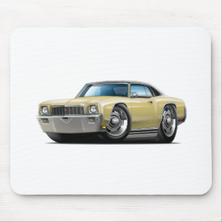 1971 Monte Carlo Tan-Black Top Car Mouse Pad