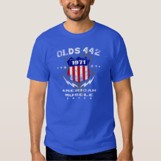1971 Olds 442 American Muscle v3 Shirt