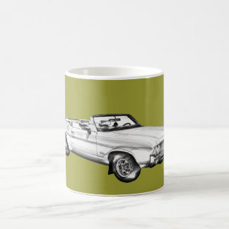1971 Oldsmobile Cutlass Supreme Car Illustration Coffee Mug
