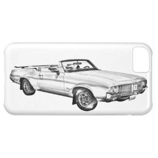 1971 Oldsmobile Cutlass Supreme Car Illustration Cover For iPhone 5C